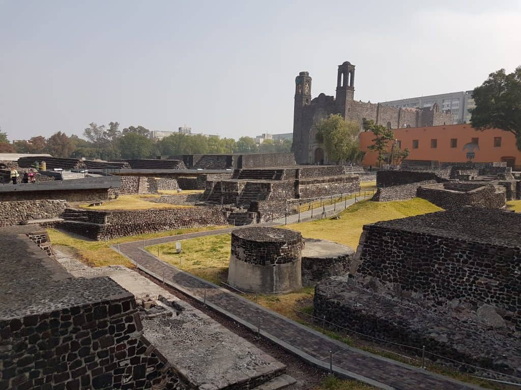 Tlatelolco, ruins in Mexico City