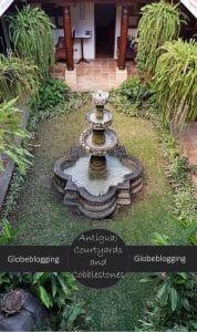 The courtyards and cobbletones of Antigua Guatemala #CourtyardsandCobblestones #Antigua #Guatemala #Feugo #Acatenango #Agua #Volcanoes #LeavingMexicoCity