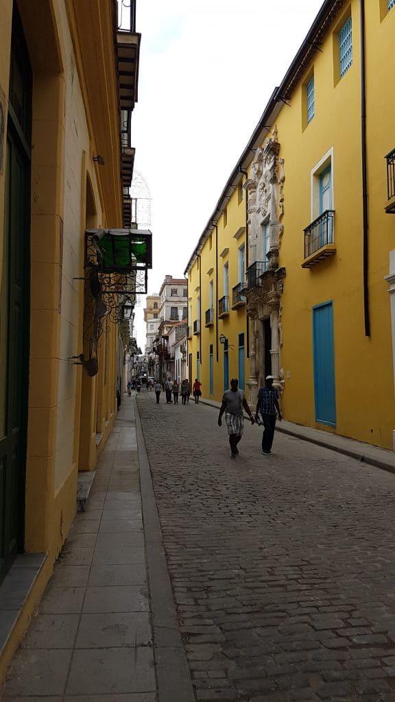 A street in Havana Cuba