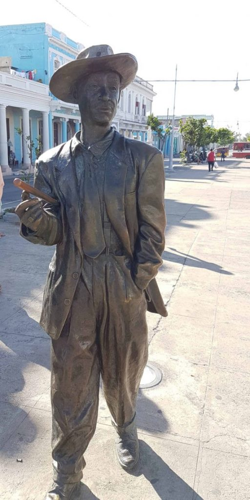 Statue of Benny More in Cienduegos, Cuba