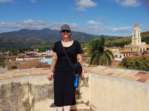 Top of Museo de Revolucion in Trinidad Cuba