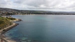 Encounter Bay, Victor Harbor, South Australia, as seen from above