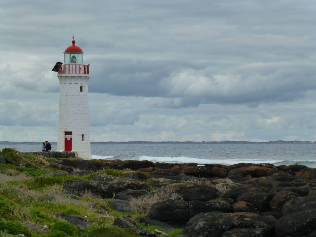 Lighthouse on Griffiths Island in Port Fairy