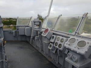The Bridge of the USS Missouri