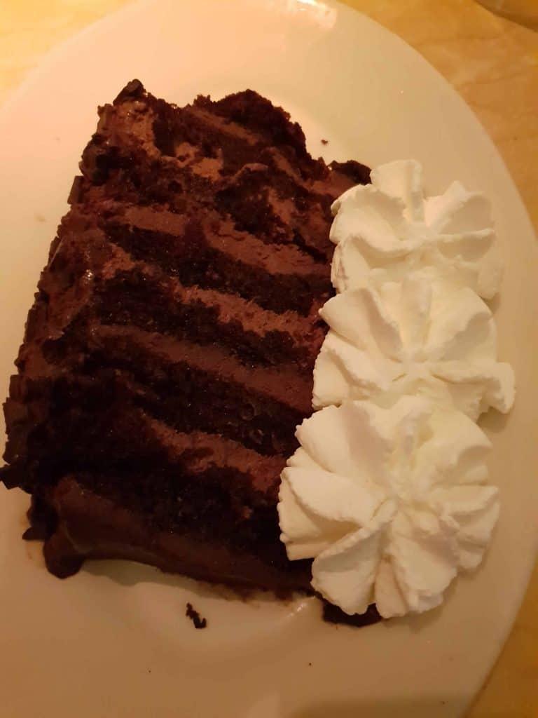 Chocolate Fudge Tower cake from The Cheesecake Factory, Waikiki