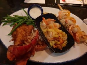 Crumbed Lobster at Red Lobster Waikiki