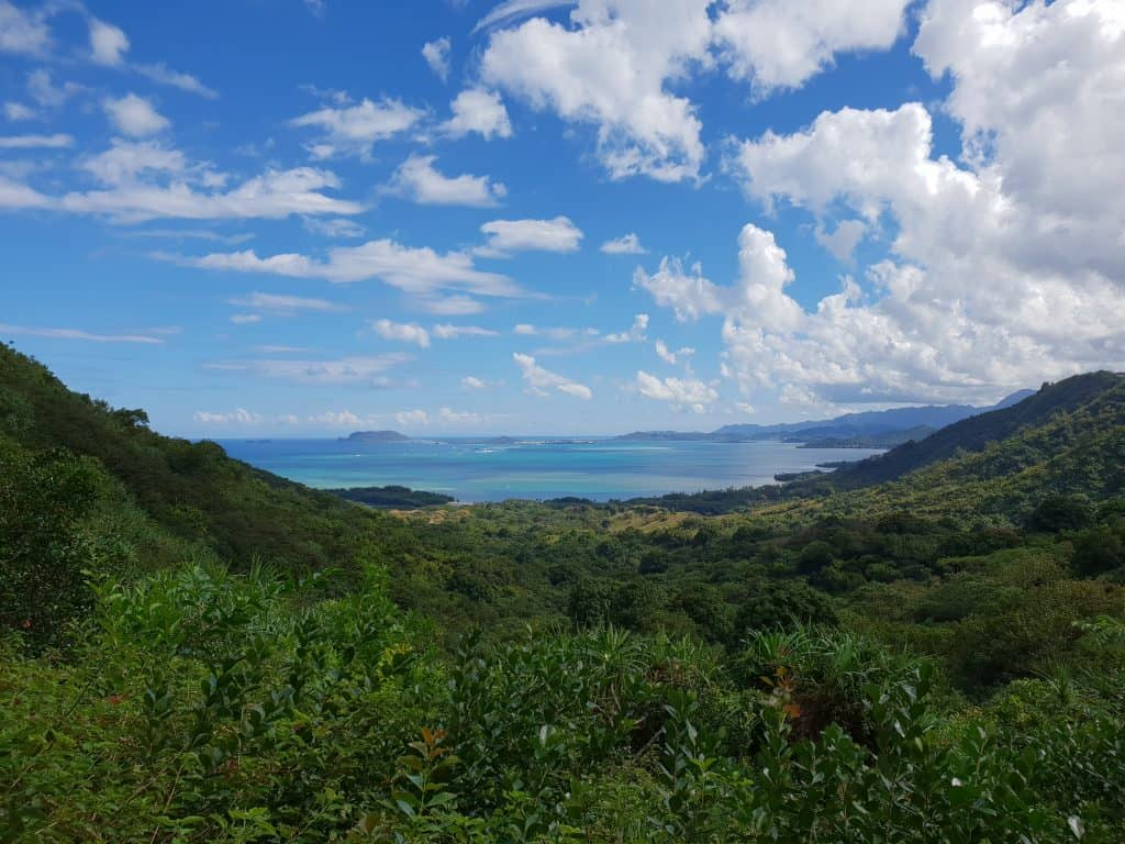 Spectacular views on the Jungle Jeep Expedition, Kualoa Ranch Oahu