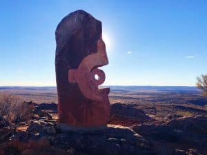 Statue at Broken Hill, NSW Australia by Leah from Kid Bucket List
