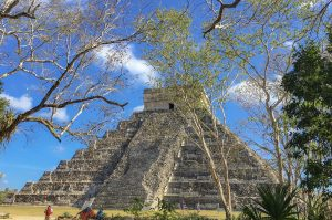 First view of Chichen Itza, Mexico by Natalie from Blissmersion