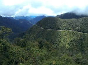 Death Road Bolivia by Simon at Journeys to Adventure
