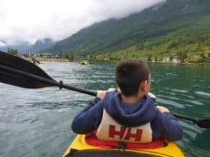 Kayaking Fjords in Norway by Penny from Itchy Feet Family