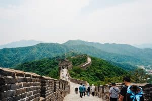 Atop the Great Wall of China by Sydney from A World In Reach
