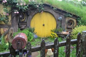 Hobbiton New Zealand by Marta from Backbackers.WRO