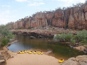 Canoe Nitmiluk Gorge, Northern Territory Australia by Stephanie from Navigating Adventure
