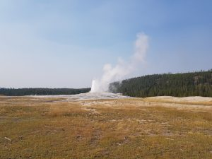 Old Faithful Geyser, Yellowstone National Park USA by Cath from Passport and Adventures