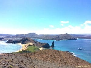 Pinnacle Rock, Galapagos Islands by Claire from Past the Potholes