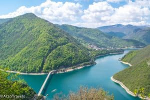 Piva Lake Montenegro by Arzo from Arzo Travels