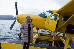 A Seaplane flight in Scotland