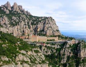 Montserrat Monastary in Spain