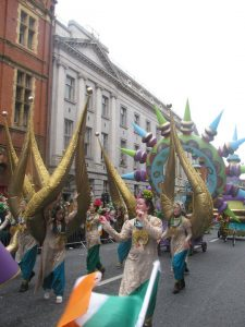 St Patricks Day Parade in Dublin Ireland by Pam from Directionally Challenged Traveler