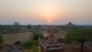 Balloons over the Temples of Bagan by Jeanne from Learning to Breathe Abroad