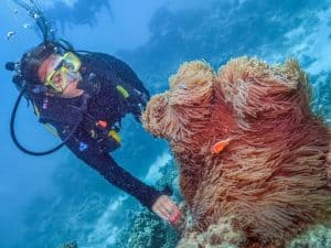 Scuba diving the Great Barrier Reef Australia by Ioana from The World is my Playground