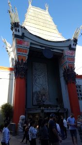 The Chinese Theatre, host of the Academy Awards ceremony in Los Angeles