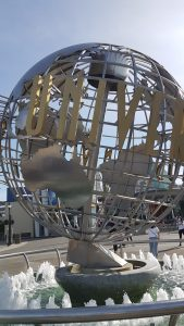 World Globe at Universal Studios, Los Angeles
