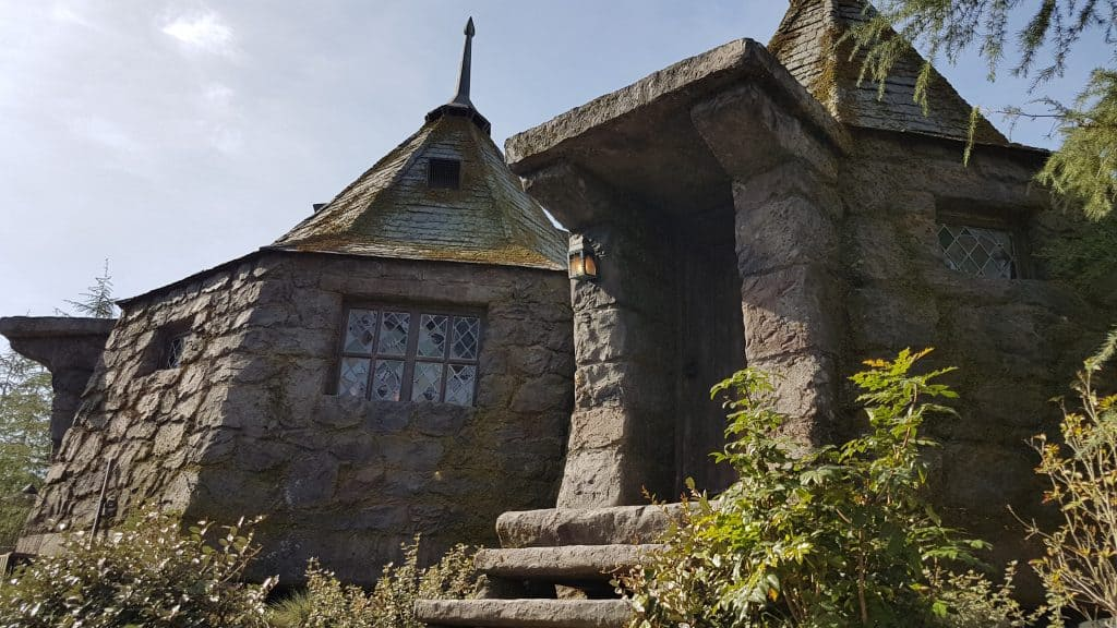 Hagrids house at the Wizarding World of Harry Potter, Universal Studios Los Angeles
