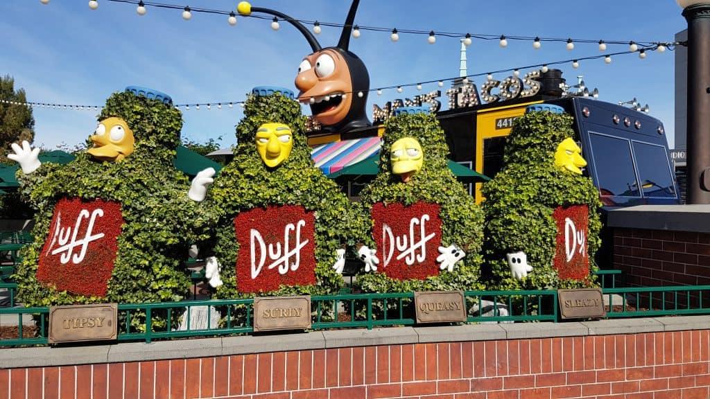 Simpsons World at Universal Studios, Los Angeles