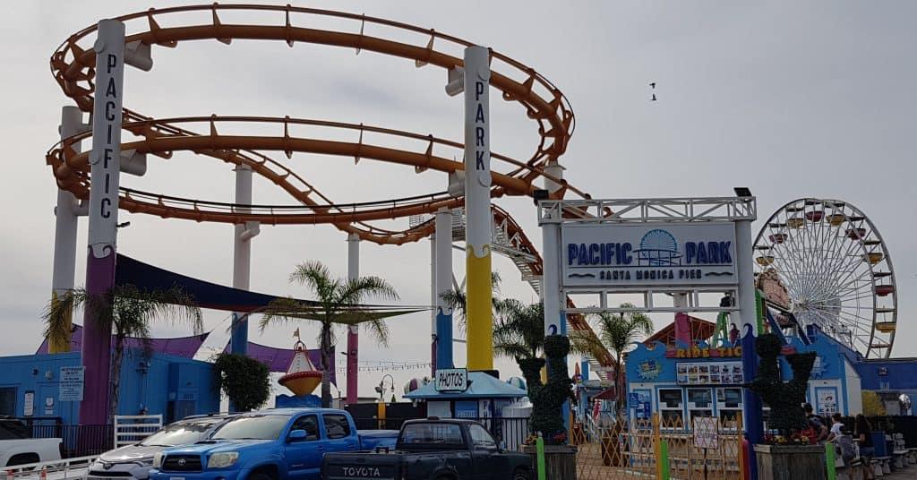 Pacific Park, Santa Monica Pier, Los Angeles
