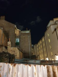 Old meets new at Susannah Place, The Rocks on Lantern Ghost Tour Sydney
