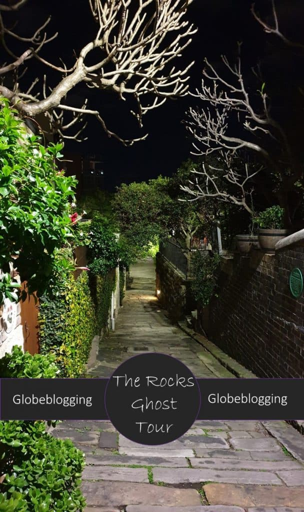 Review of Lantern Ghost Tour The Rocks, a walking tour full of Sydney's sordid history in one of the oldest parts of the city..