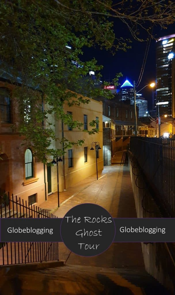 Review of Lantern Ghost Tour The Rocks, a walking tour full of Sydney's sordid history in one of the oldest parts of the city.