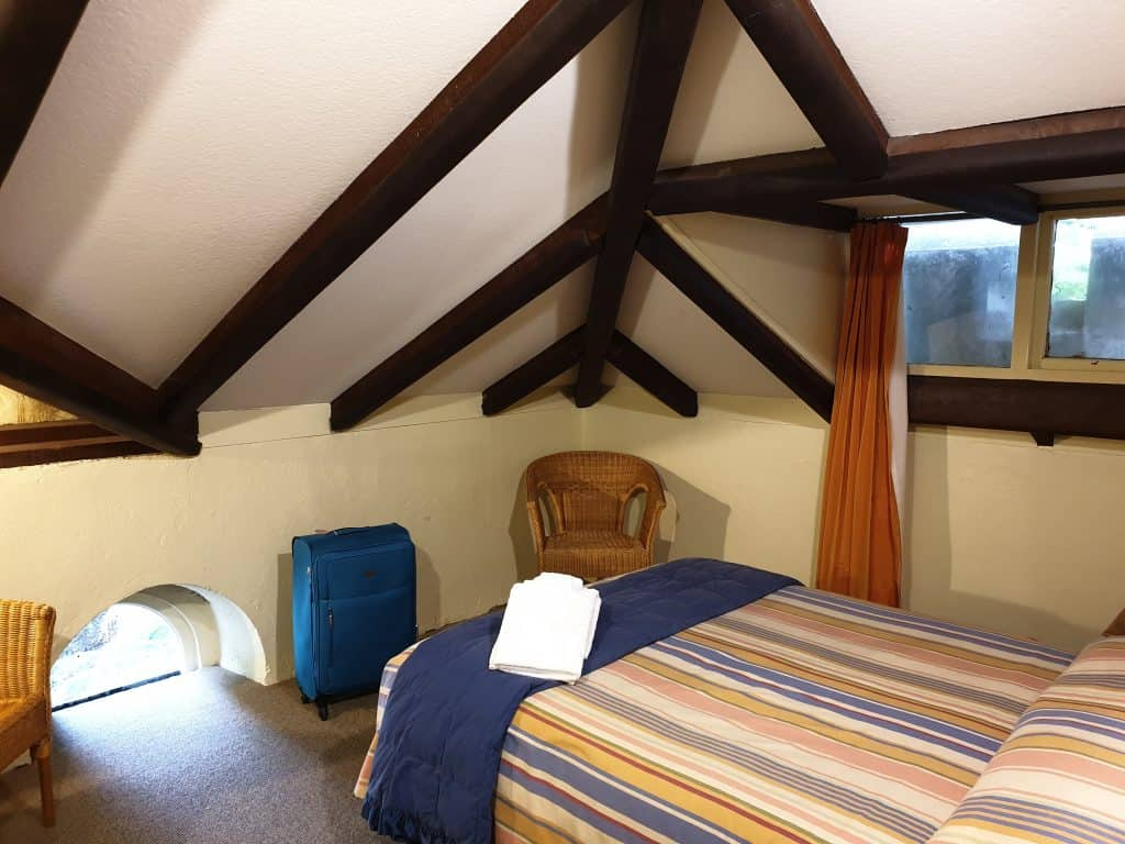 Accommodation in the stables at Larnach Castle