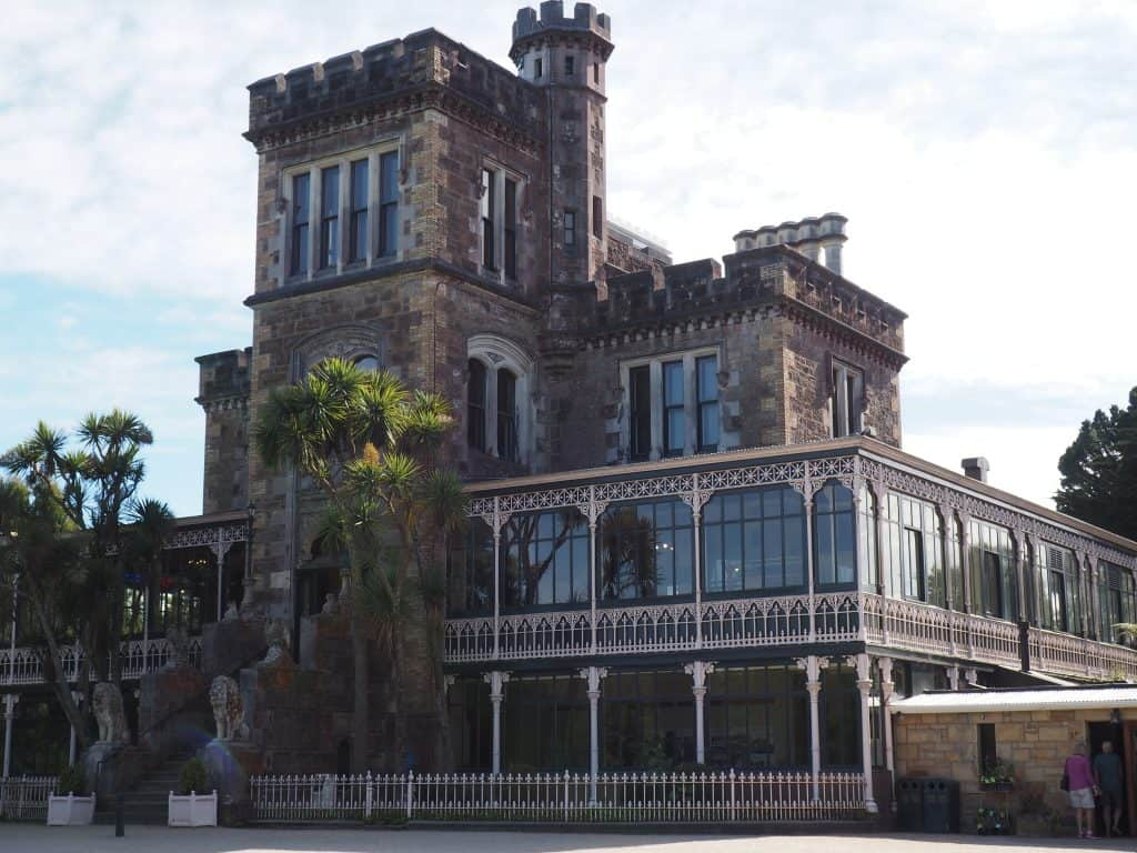 Larnach Castle in Dunedin New Zealand
