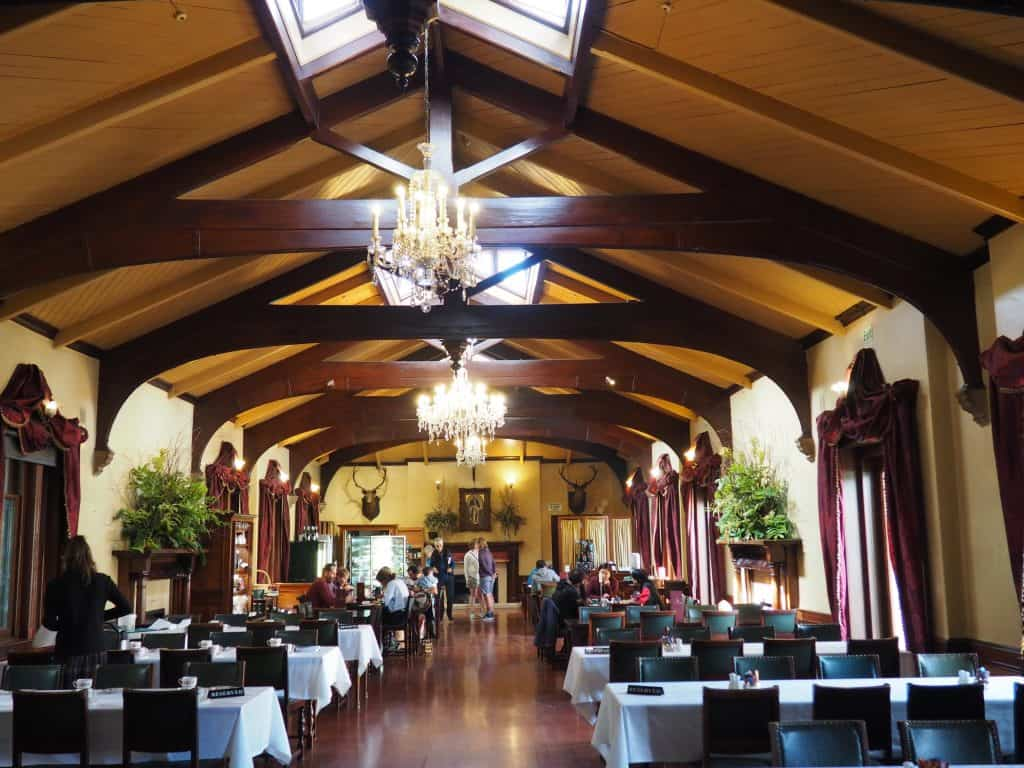 Ballroom Cafe at Larnach Castle