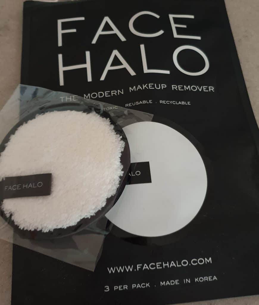 Face Halo for makeup removal