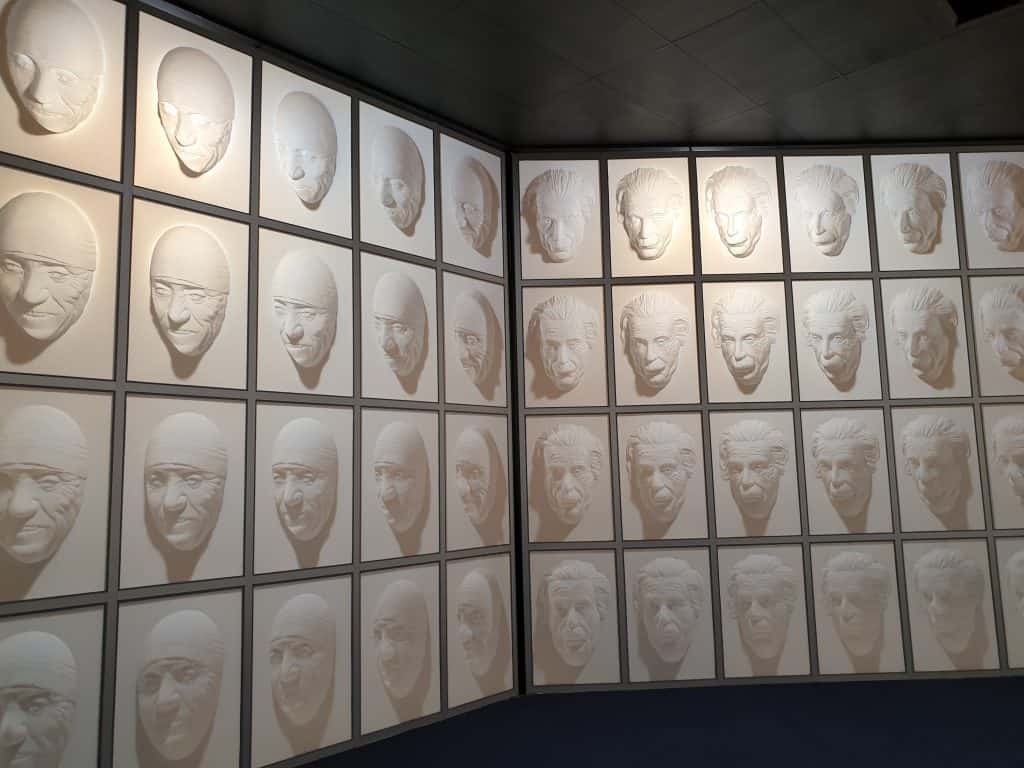 The Hall of Following Faces at Puzzling World Wanaka