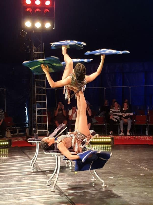 Performers of Cirque Africa at the Adelaide Fringe Festival