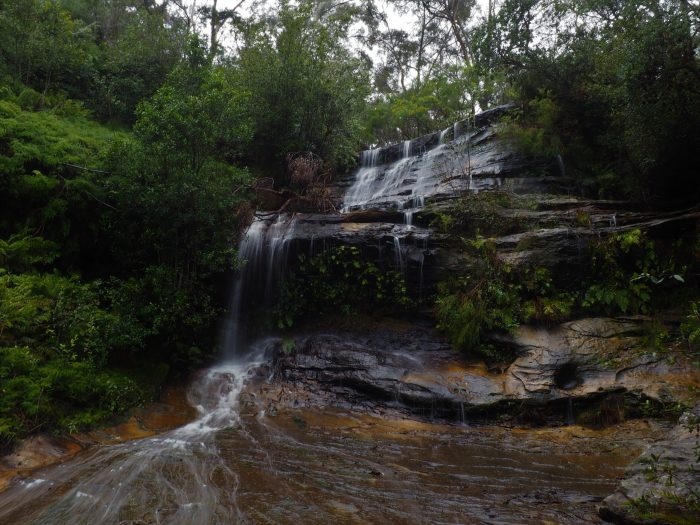 Cataract Falls on the Lawson Waterfall Circuit
