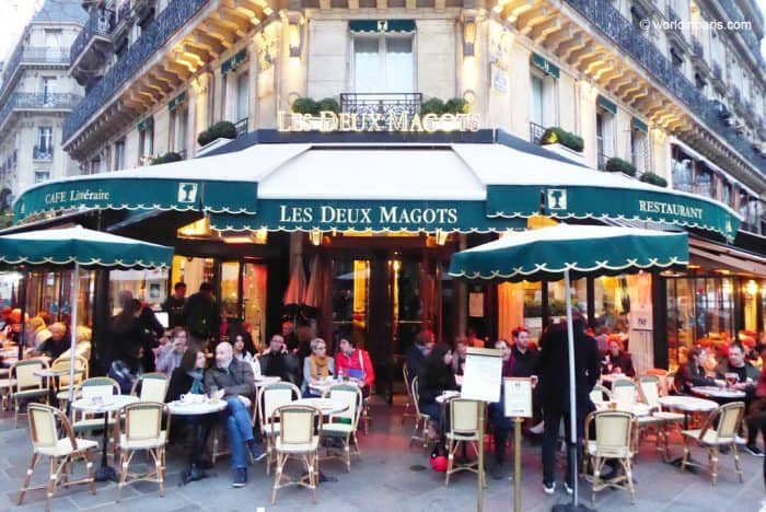 Les Deux Paris, an iconic place in Saint Germain during the roaring 20s'. Courtesy of World In Paris
