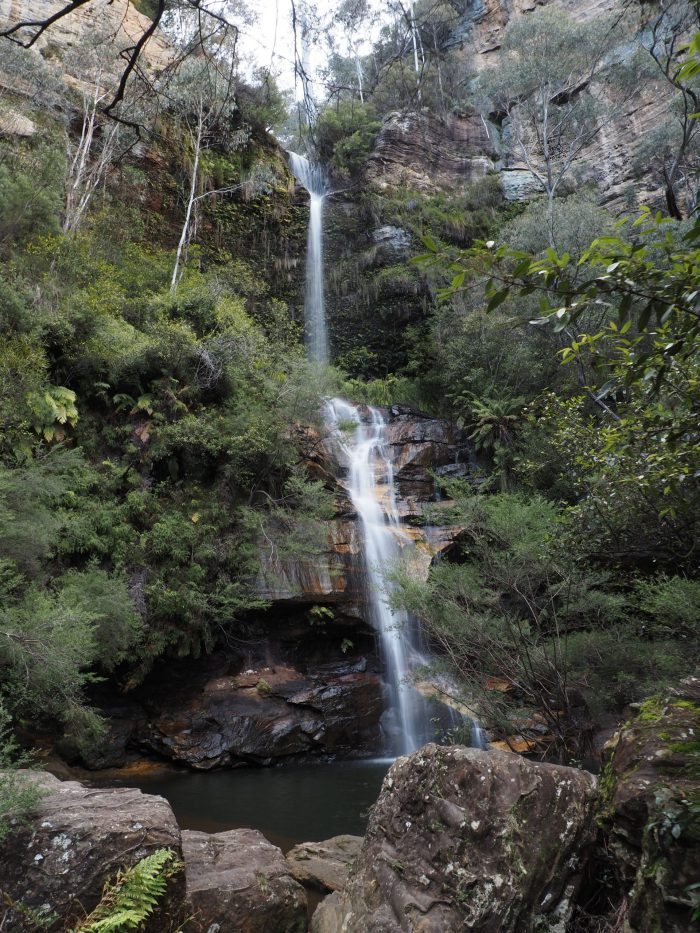 Minni Ha Ha Falls Katoomba from bottom