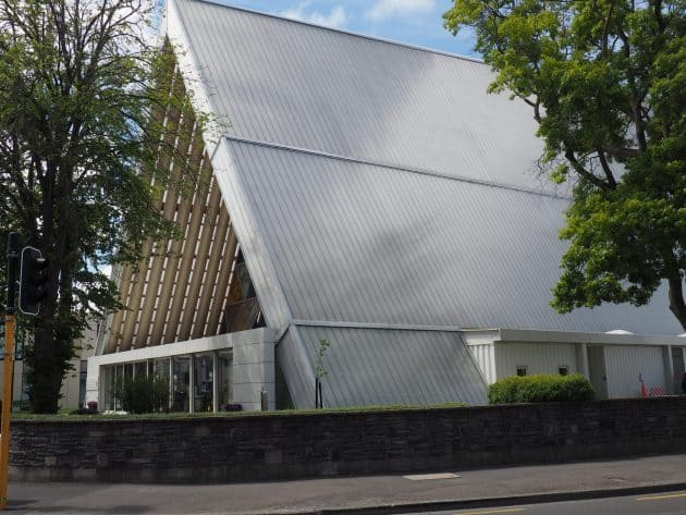 Exterior of the Transitional Church in Christchurch