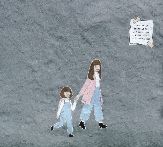 Mural by Ruby Jones in Christchurch
