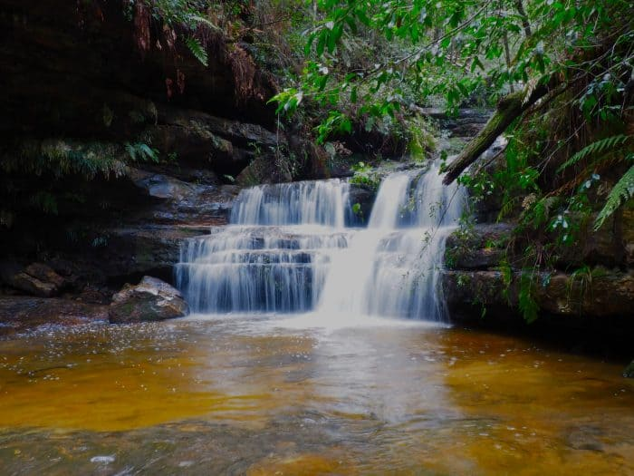 Terrace Falls in Hazelbrook, Blue Mountains