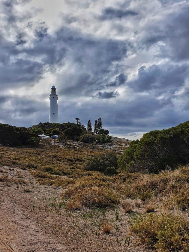 The Rottnest Island lighthouse