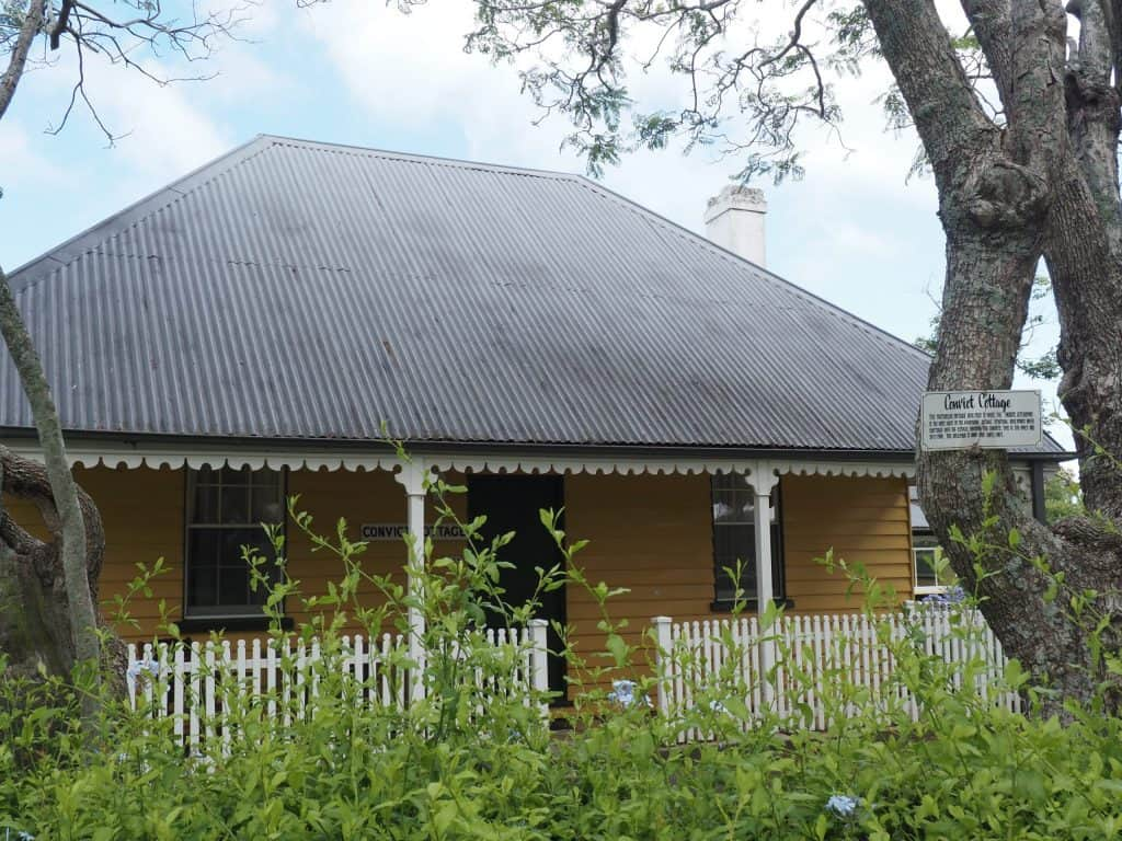 Convict Cottage on Coolangatta Estate in Berry NSW