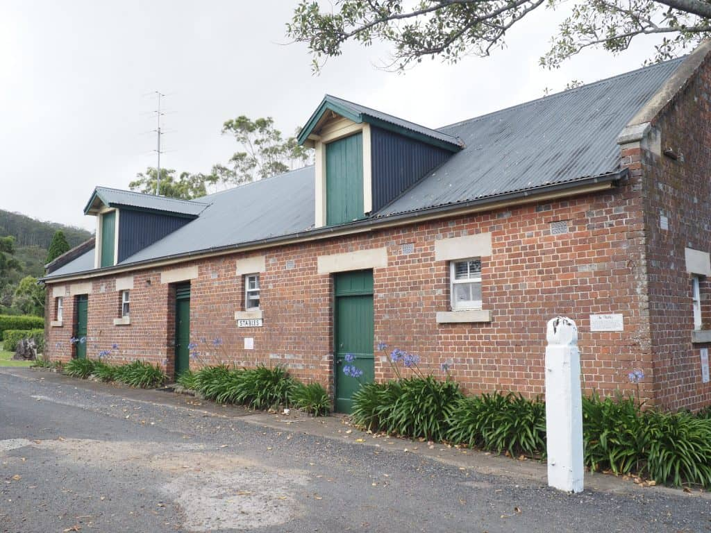 old convict built stable building on Coolangatta Estate, which is now converted into accommodation
